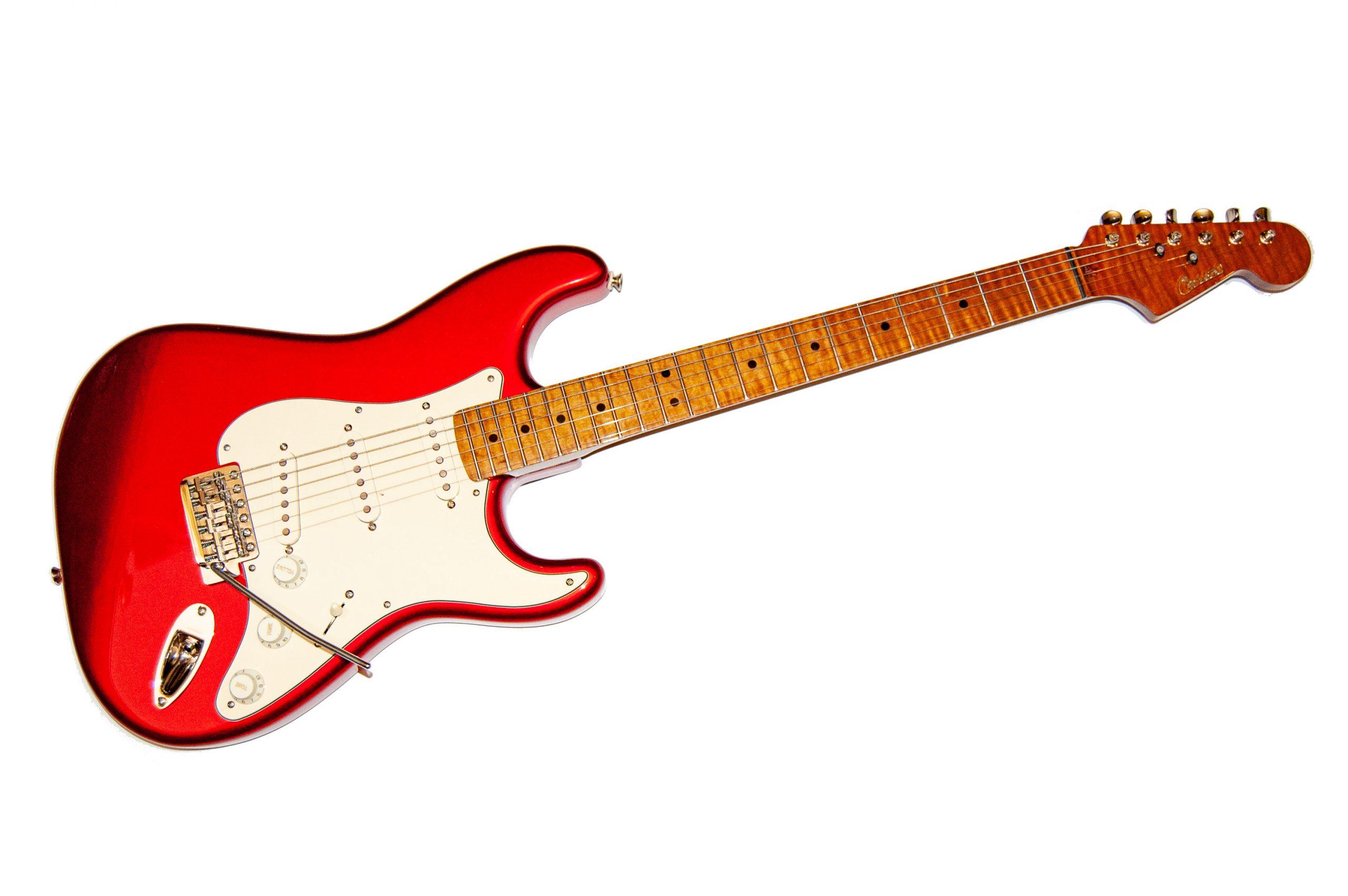 CST Caruso Strat Stile Guitars